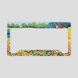 Faces in the Field ap License Plate Holder