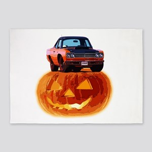 abyAmericanMuscleCar_70RDRunner_Halloween02 5'x7'A