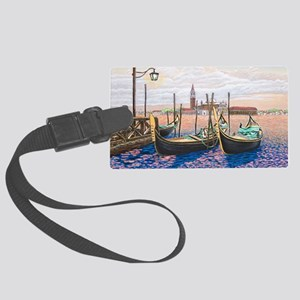Twilight in Venice ap Large Luggage Tag