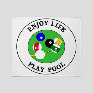 pool1 Throw Blanket