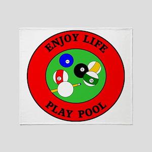 pool4 Throw Blanket