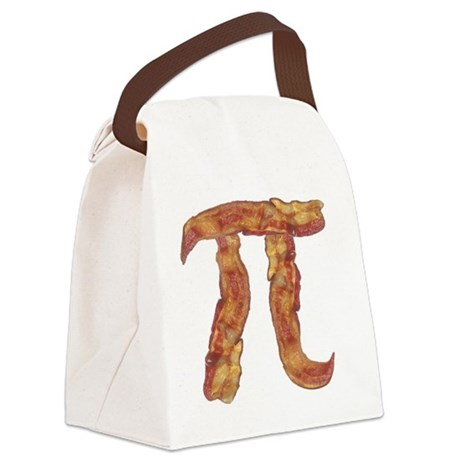 baconpi2 Canvas Lunch Bag