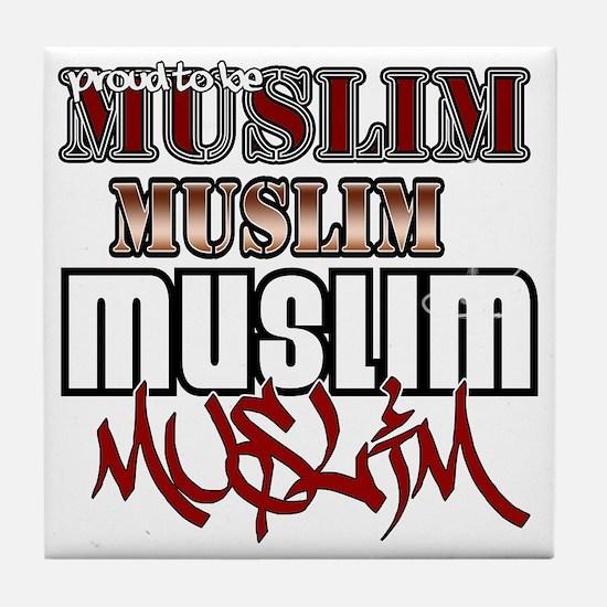 2-Muslim Tile Coaster