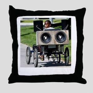 soundsystem Throw Pillow