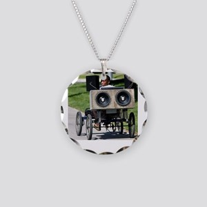 soundsystem Necklace Circle Charm