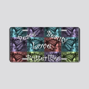 butterflyMommy2 Aluminum License Plate