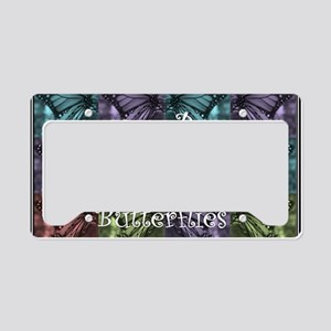 butterflyMommy2 License Plate Holder
