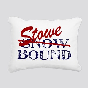 StoweBound Rectangular Canvas Pillow