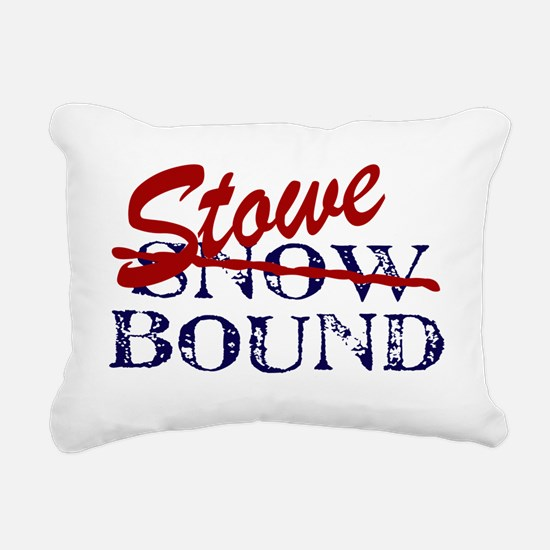 StoweBound Rectangular Canvas Pillow