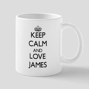 Keep Calm and Love James Mugs