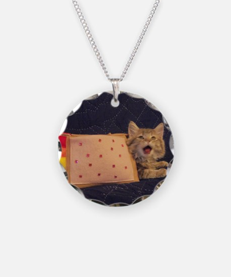 IRL Nyan Pop-Tart Cat  Necklace