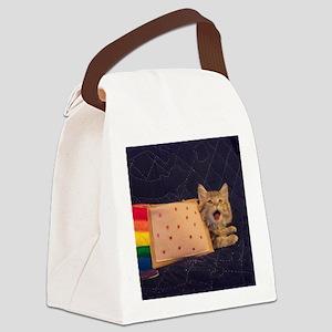 IRL Nyan Pop-Tart Cat  Canvas Lunch Bag