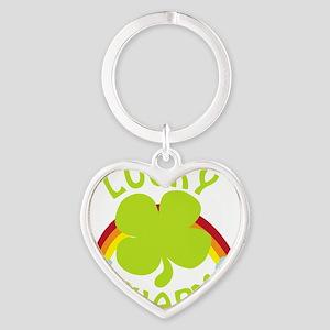 luckycharm_dark Heart Keychain