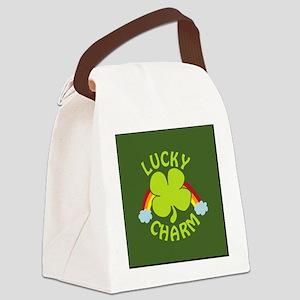 luckycharm_icon Canvas Lunch Bag