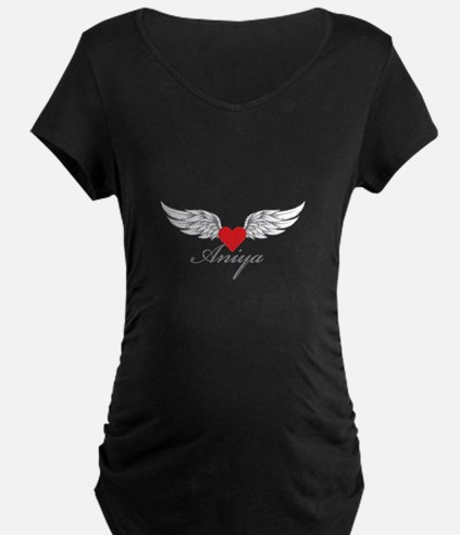 Angel Wings Aniya Maternity T-Shirt