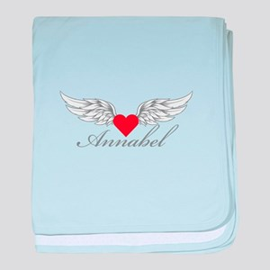 Angel Wings Annabel baby blanket