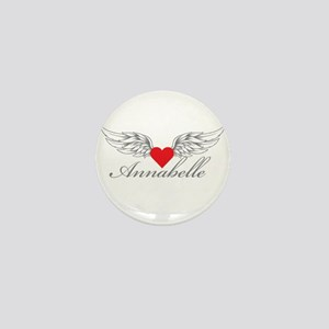 Angel Wings Annabelle Mini Button