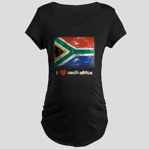 fifa_flag_only_design4 Maternity Dark T-Shirt
