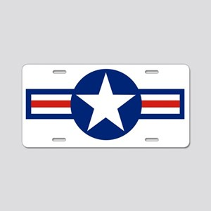 retro us airforce star Aluminum License Plate