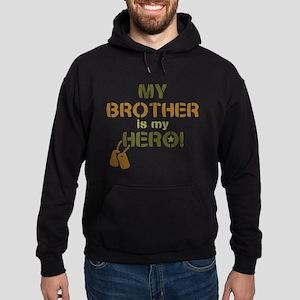 Dog Tag Hero Brother Hoodie (dark)