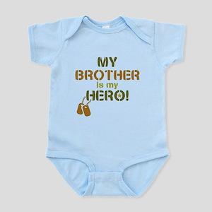 Dog Tag Hero Brother Infant Bodysuit