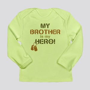 Dog Tag Hero Brother Long Sleeve Infant T-Shirt