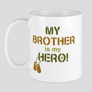 Dog Tag Hero Brother Mug