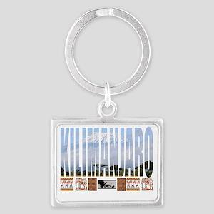 kili shirt Landscape Keychain
