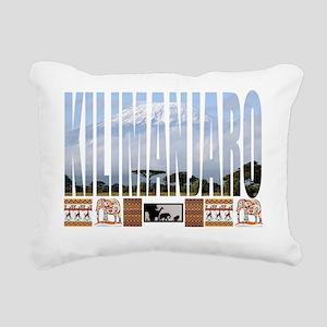 kili shirt Rectangular Canvas Pillow
