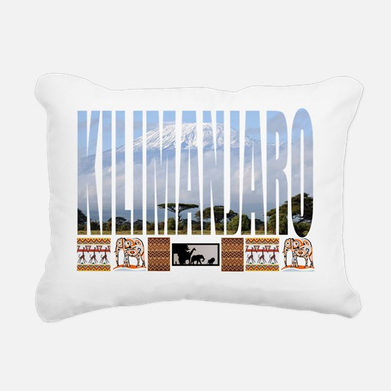 kili shirt Rectangular Canvas Pillow