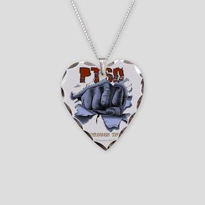 IAO White Necklace Heart Charm