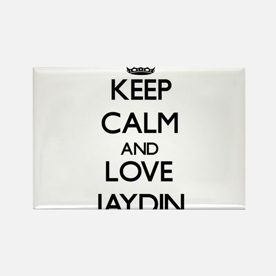 Keep Calm and Love Jaydin Magnets