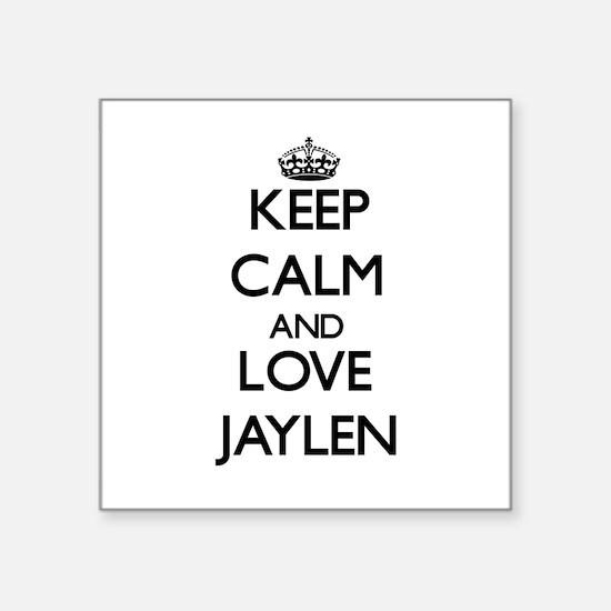 Keep Calm and Love Jaylen Sticker