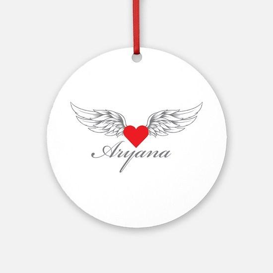 Angel Wings Aryana Ornament (Round)