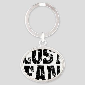lost fan Oval Keychain