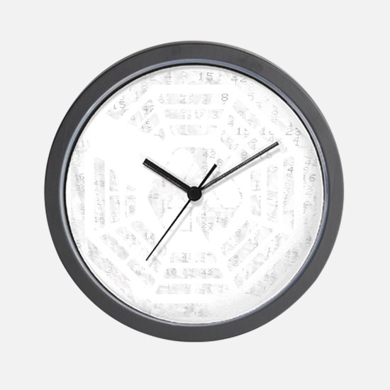 Dharma_Recycle_Flat Wall Clock