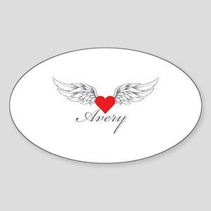 Angel Wings Avery Sticker