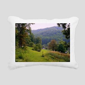 Mountainvalleyslargepost Rectangular Canvas Pillow