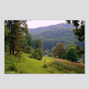Mountainvalleyslargeposte Postcards (Package of 8)