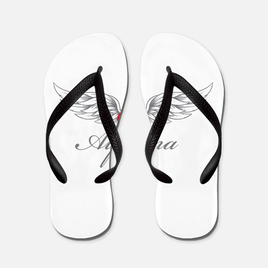 Angel Wings Ayanna Flip Flops