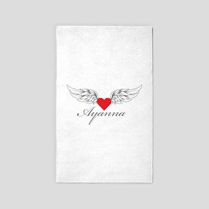 Angel Wings Ayanna 3'x5' Area Rug