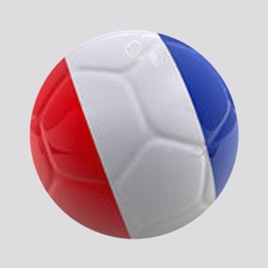 France world cup ball Ornament (Round)