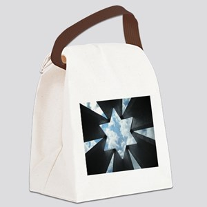 Jewish Star Canvas Lunch Bag