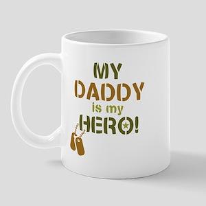 Dog Tag Hero Daddy Mug