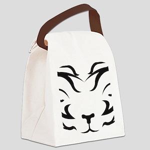 TigerLogo4 Canvas Lunch Bag