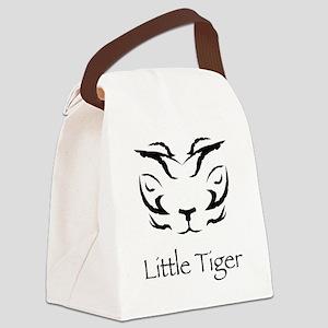 LittleTigerLogo4 Canvas Lunch Bag