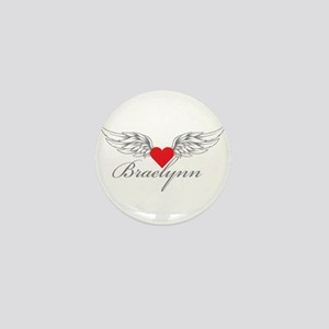 Angel Wings Braelynn Mini Button