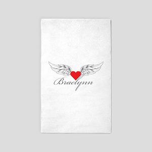 Angel Wings Braelynn 3'x5' Area Rug