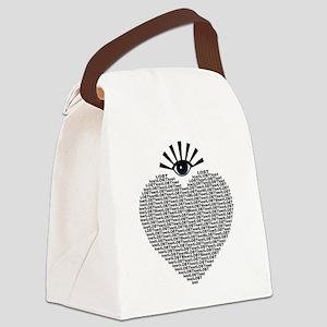 eyeLOST Canvas Lunch Bag