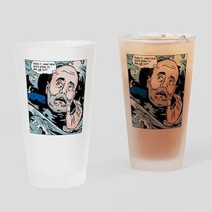 Bernanke drowning Drinking Glass